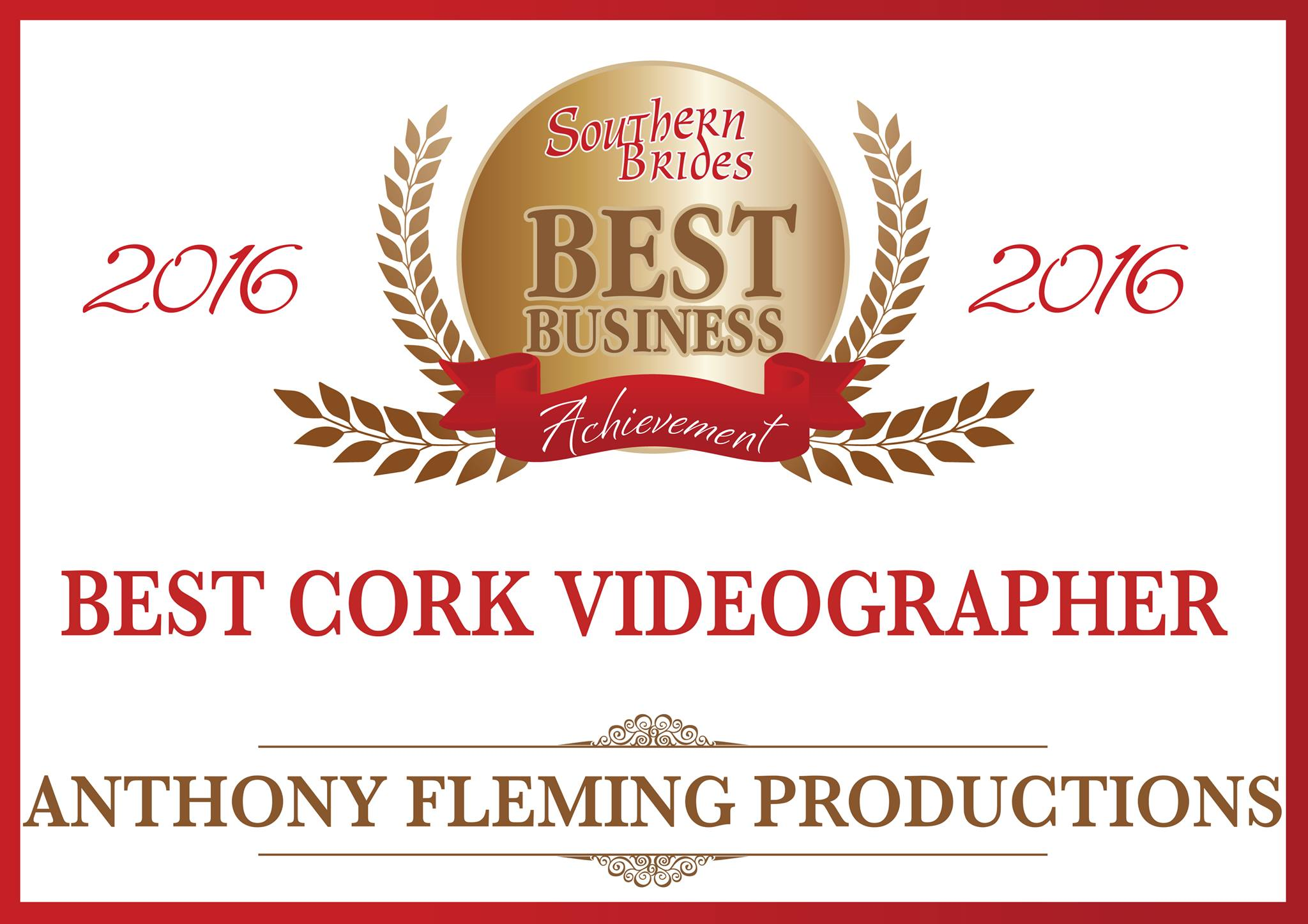 Best Cork Videographer 2016
